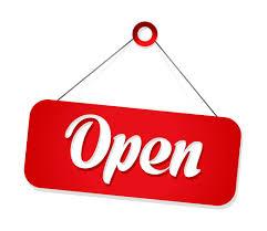 Kantoor vanaf 1 juli open